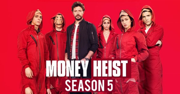 سریال مانی هیست money heist فصل پنجم