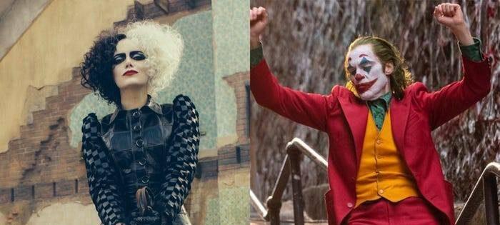 فیلم Cruella و جوکر