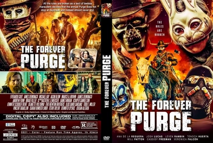 فیلم The Forever Purge پاکسازی ابدی