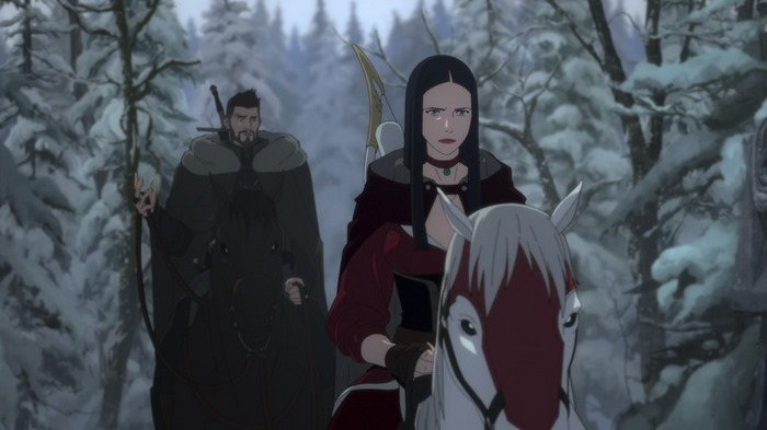 انیمیشن ویچر The Witcher: Nightmare of the Wolf