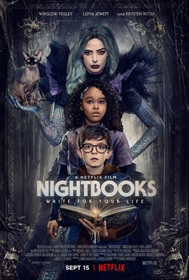 فیلم Nightbooks کتابهای شبانه