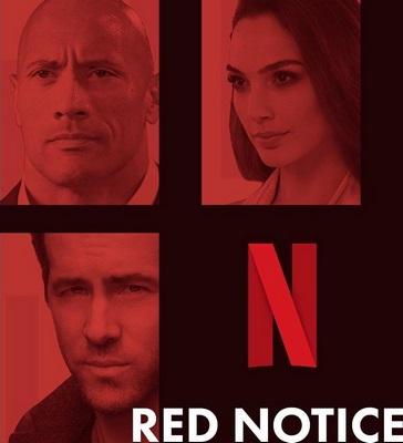 فیلم Red Notice 2021 اخطار قرمز