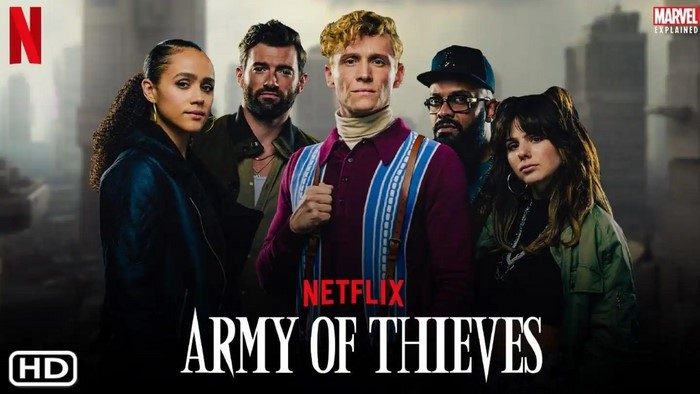 فیلم Army of Thieves 2021 ارتش دزدان