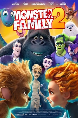 انیمیشن Monster Family 2 2021 خانواده هیولاها 2